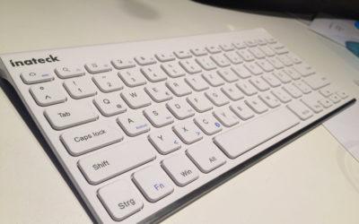 Inateck BK1003G iPad Tastatur Testbericht