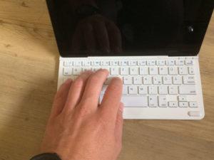 Anker iPad Tastatur Test Tippgefühl