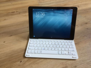 Anker iPad Tastatur Test Optik